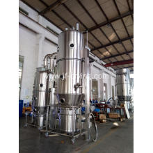 Fluid bed granulator with drying machine